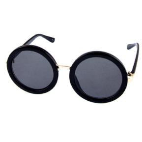 "Retro Round Frames ""Black"""