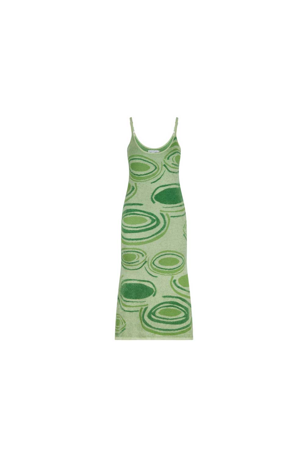 Hockney Dress in Lily Palm Green