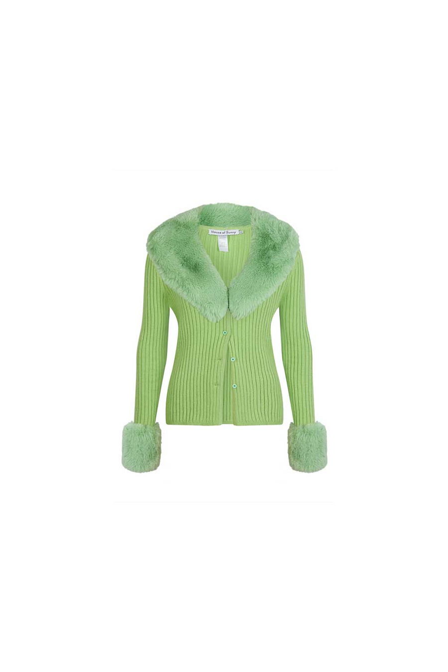 Peggy Cardigan with removable trims