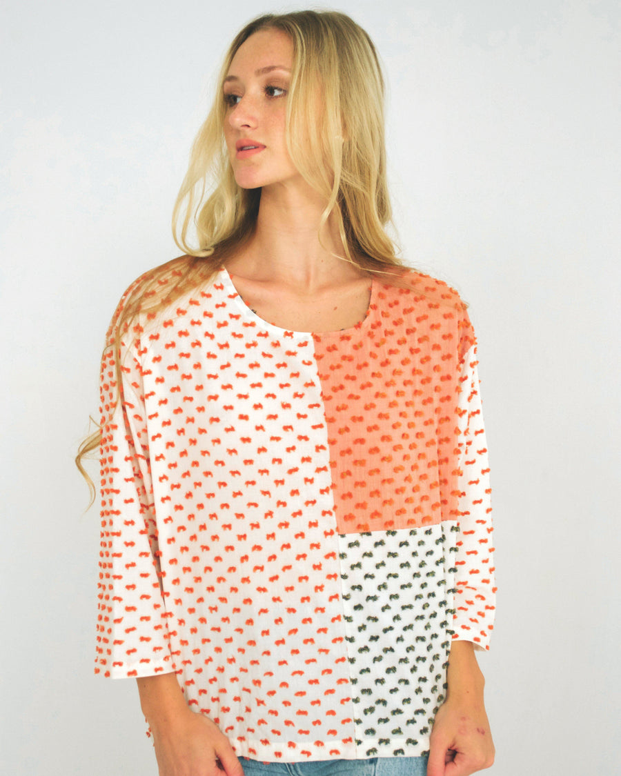 Knoll Patchwork Top