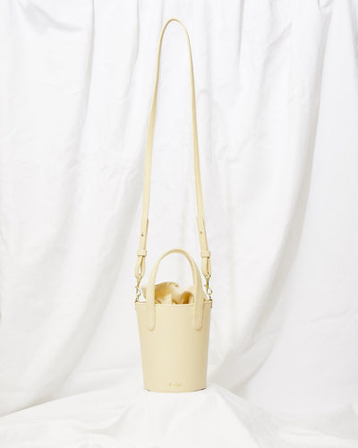 Crossbody Mini Bucket Bag in Sahara