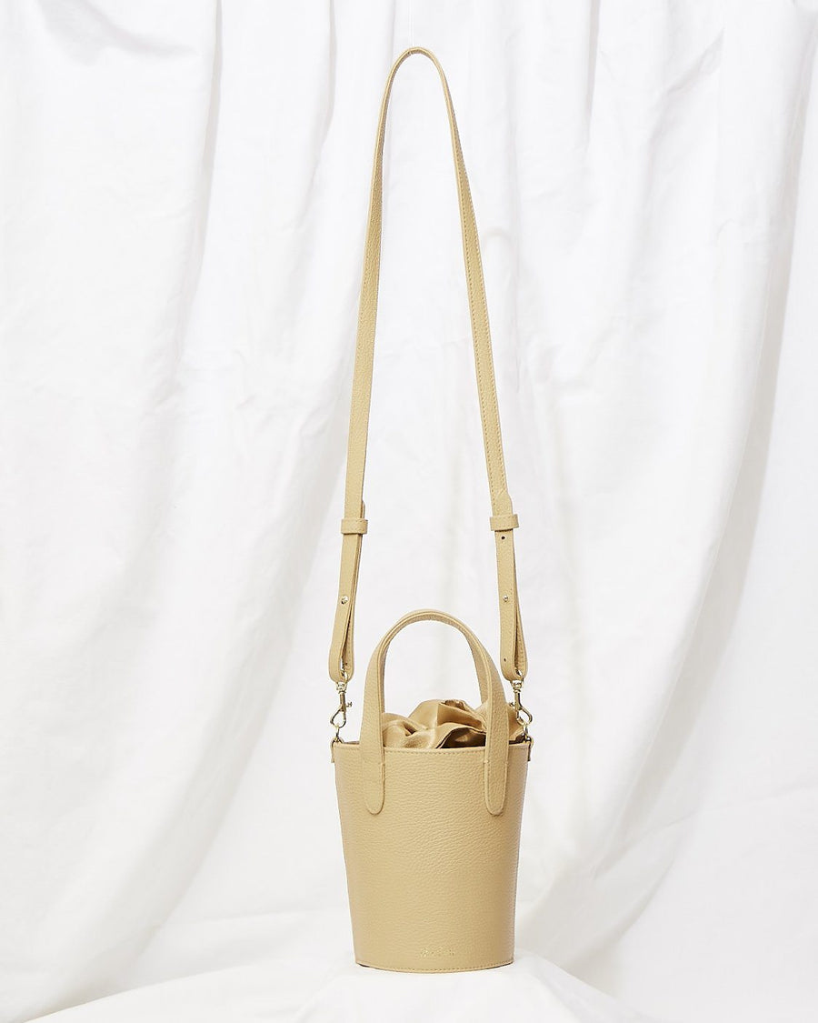 Crossbody Mini Bucket in Nude Beach