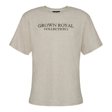 COLLECTION ONE T-SHIRT - GREY - GROWN ROYAL