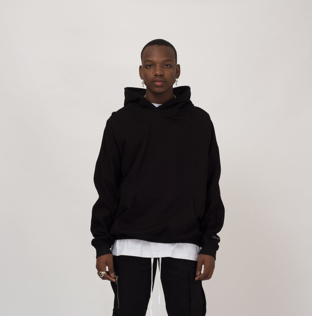 WORLD OF SIN HOODIE - BLACK