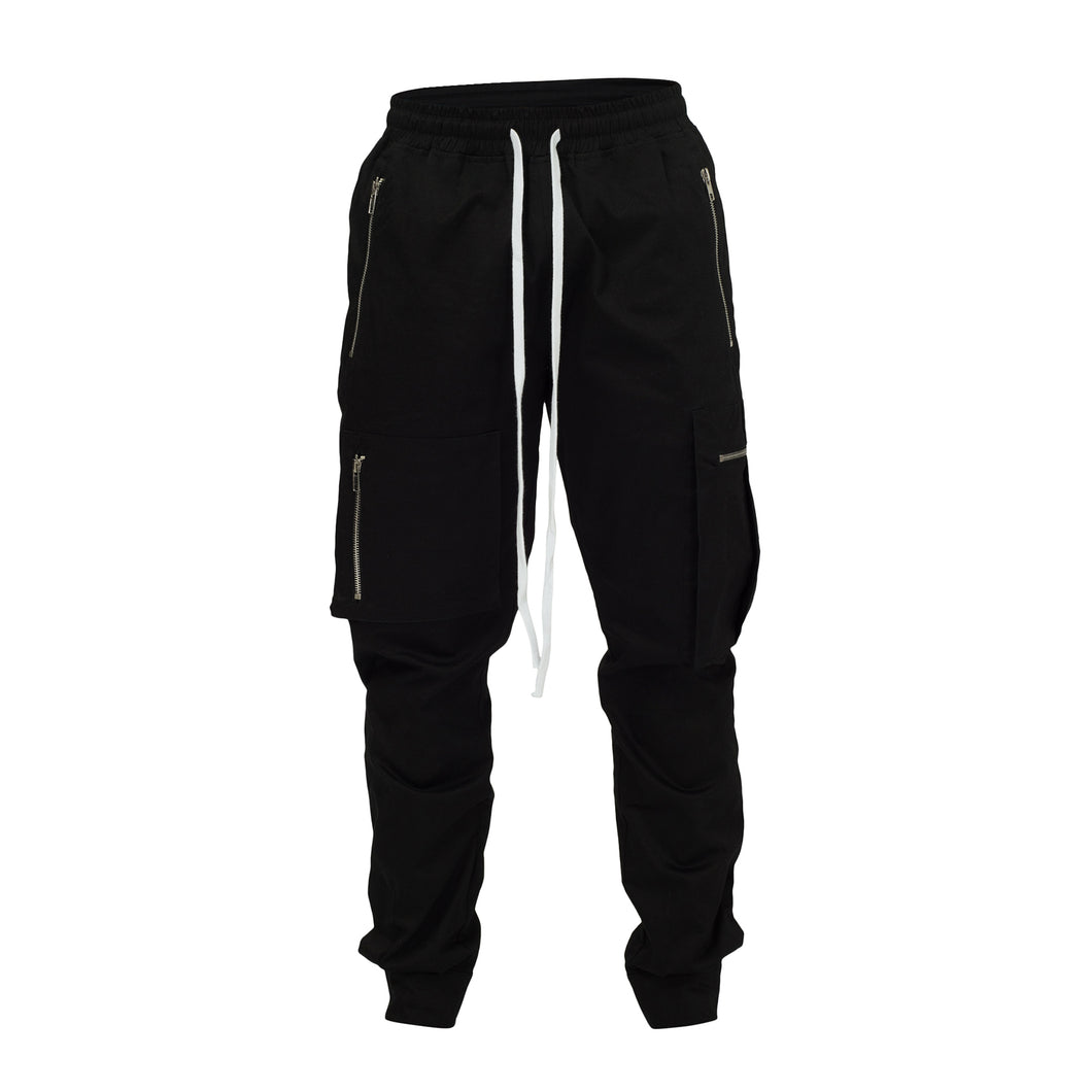 TACTICAL TRACKPANTS - BLACK