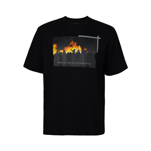 WORLD OF SIN T-SHIRT - BLACK
