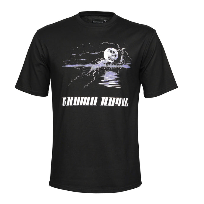 MIDNIGHT STORM T-SHIRT - BLACK