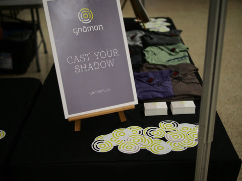 Cast your shadow poster with stickers