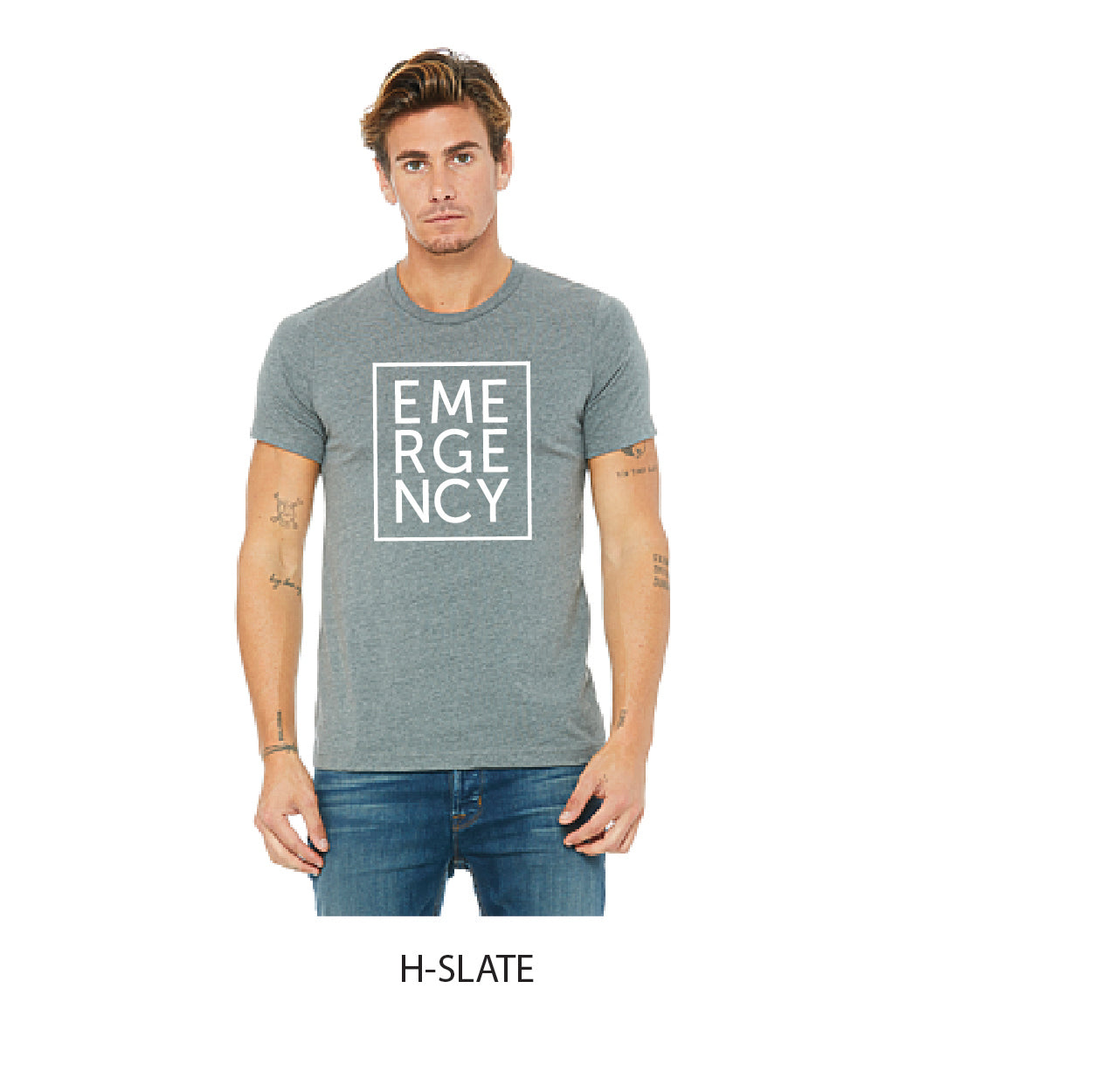 Emergency Square T-Shirt