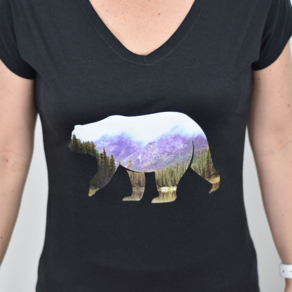 Bear Women's V-Neck