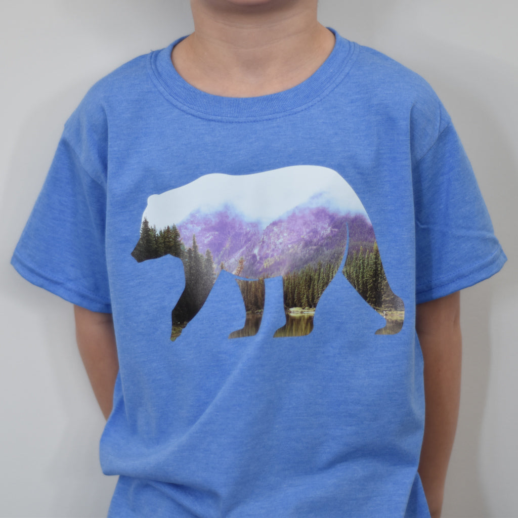 Bear Tshirt - Kids Sizing