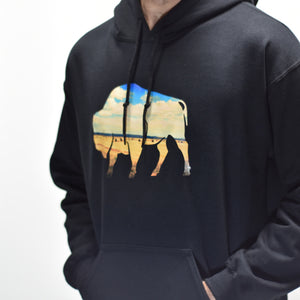 Bison Pullover Hoodie