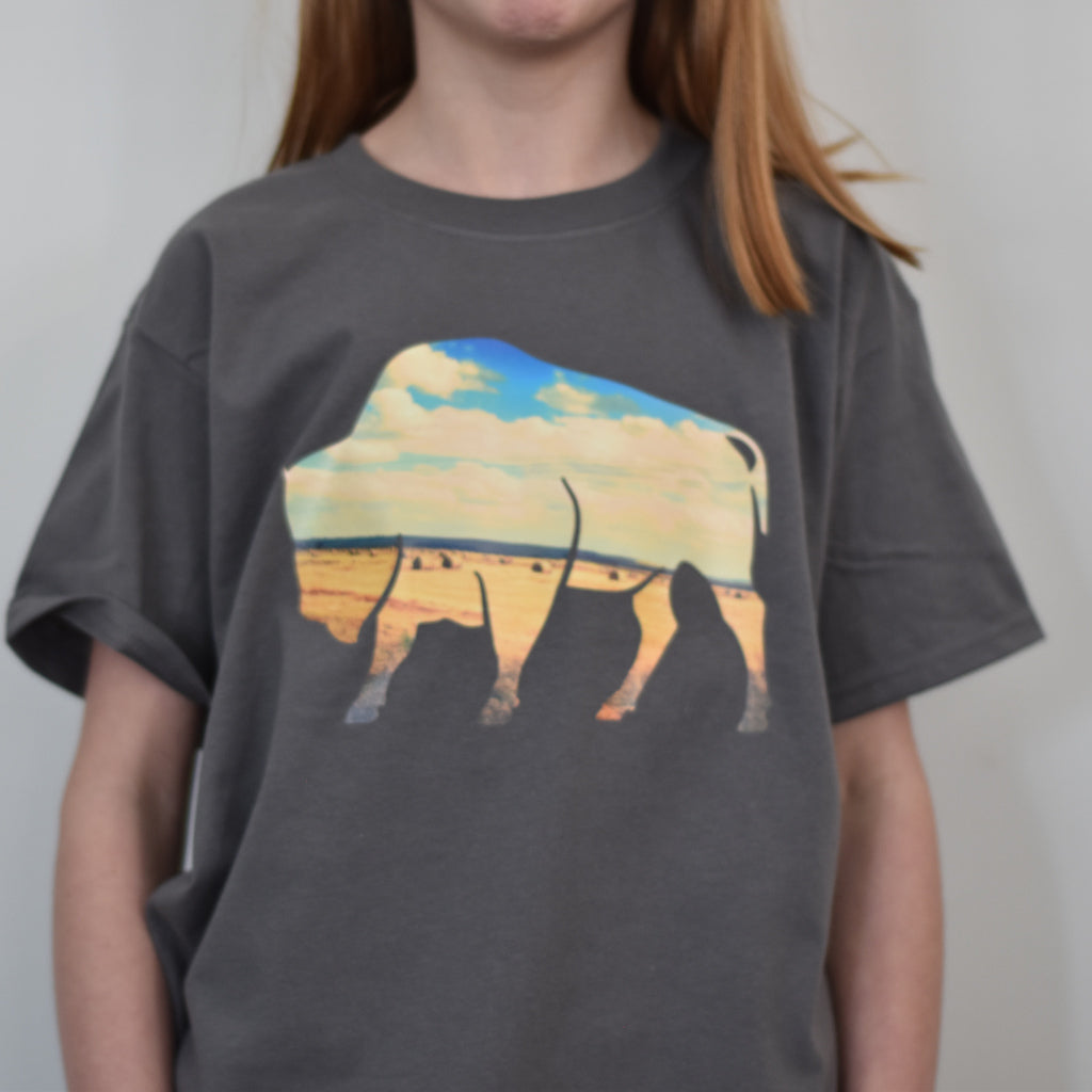 Bison Tshirt - Kids Sizing