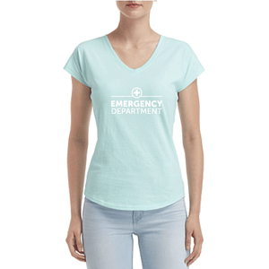 Emergency Wordmark V-Neck