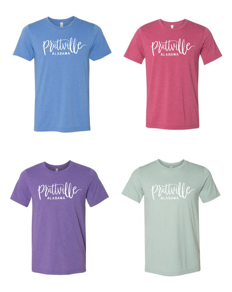 "Short-Sleeve Bella and Canvas ""Prattville"" tshirts"