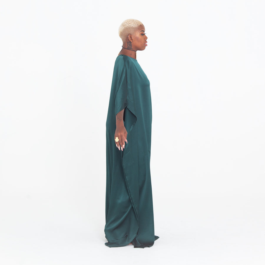 Emerald Green Madre Kaftan