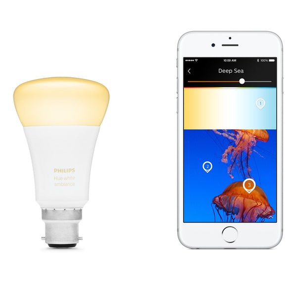 Philips Hue White Ambiance Single Bulb B22