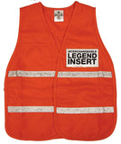 ML Kishigo - 3700 Series Incident Command Vest - International Orange - 5 Pack