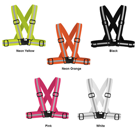 360 USA Reflective Running Harness