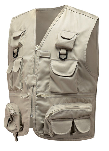 Multi pockets fishing Vest