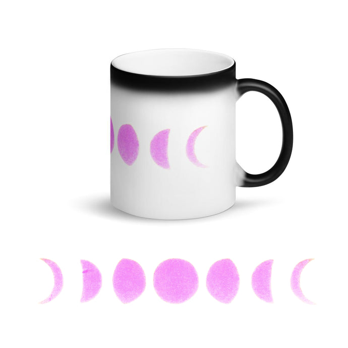 Magic Mug ⚡️ Pink Moon Phases