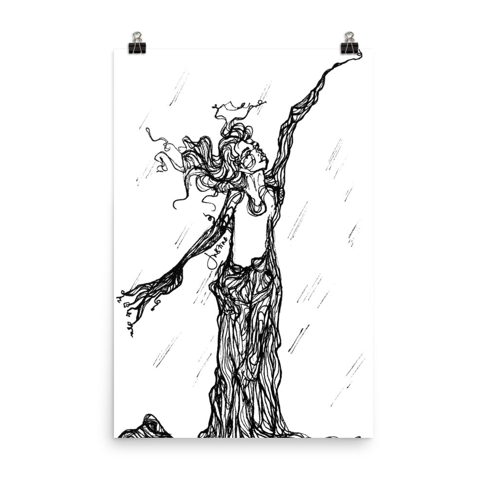 Art Print | Wise Old Tree