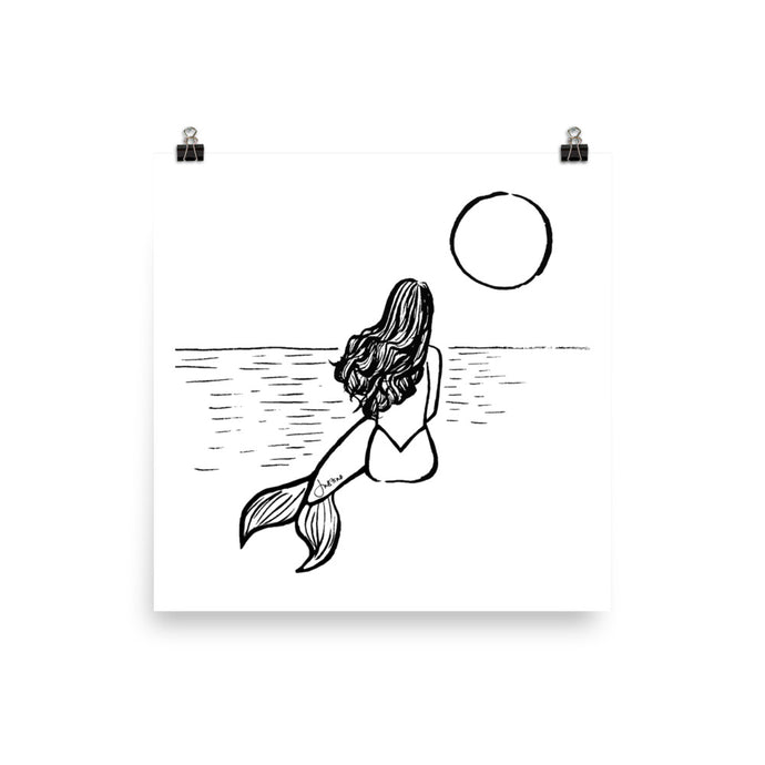 Art Print | Mermaid