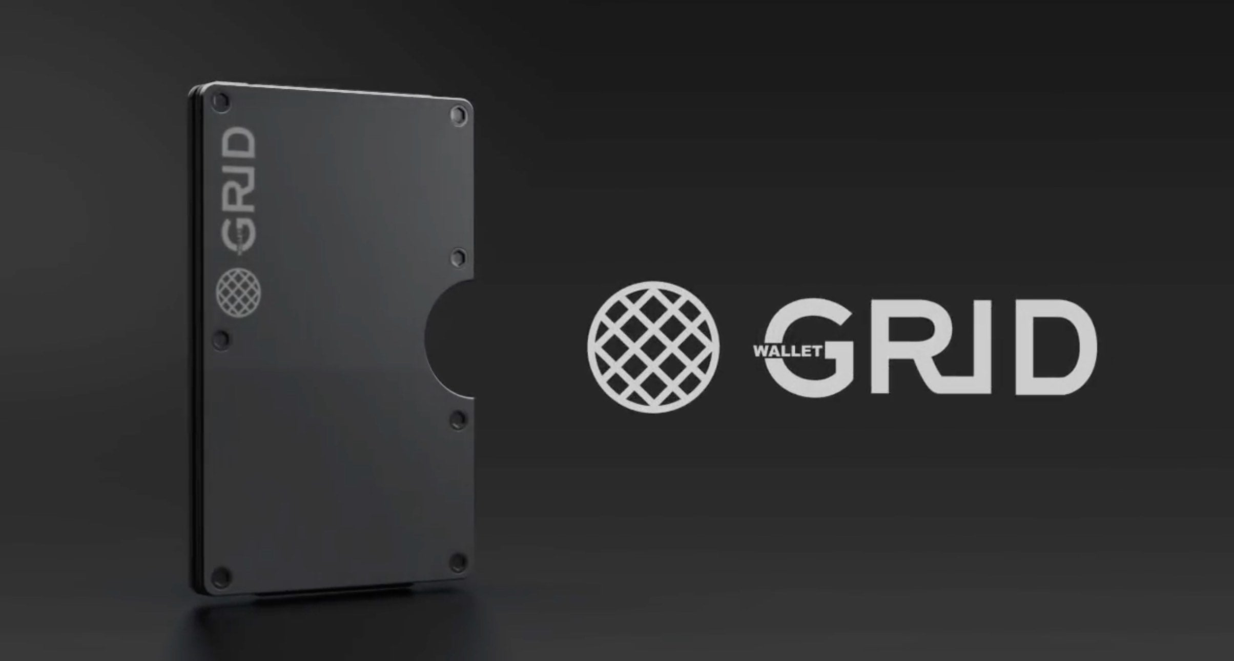 Ultra Slim Wallet By Grid Minimalistic Design With Rfid Protection