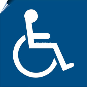 Symbol of Accessibility (ISA) Label-ADA Sign-SignOptima