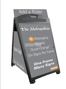The Metropolitan A-Frame Sign Holder-Signicade-SignOptima