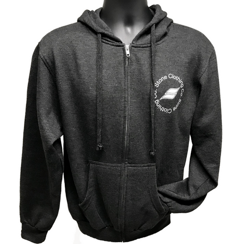 Qualifier Zip-up Hoodie (Heather Graphite)