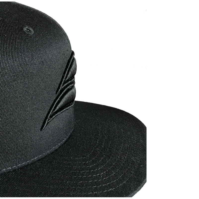 Black Edition Original Flexfit Snapback Hat