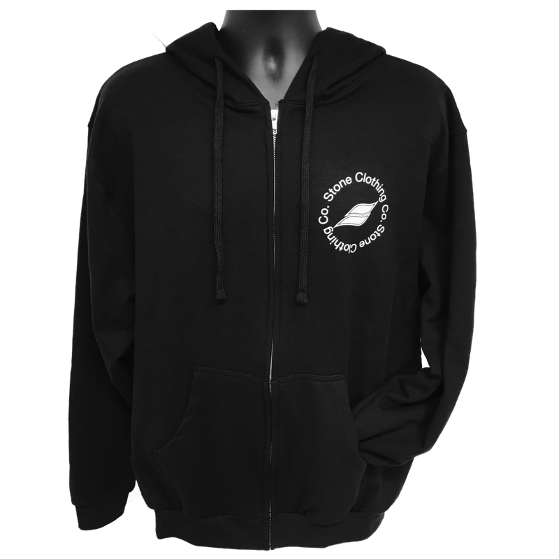 Qualifier Zip-up Hoodie (Black)