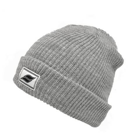 Letterhead Beanie - heather Gray