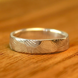 Forest Wedding Band - Wide