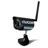 NuCam WR Water Resistant HD Wireless Camera for Trailer RV Truck Boat Camping with Night Vision, Magnetic Base & Built-in Battery - Nuvending.com
