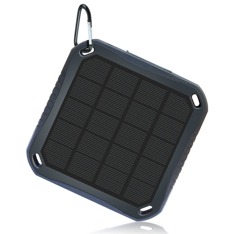 NuCharger S5600 Flat Solar Panel and Power Bank 5,600mAh - Nuvending.com