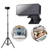 PC Camera Webcam with Microphone - 1080P Mini Cam USB 2.0 for Live Broadcast Video Calling Conference Zoom Work