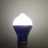 Soft/Cold White Motion Activated LED E26/E27 Light Bulb