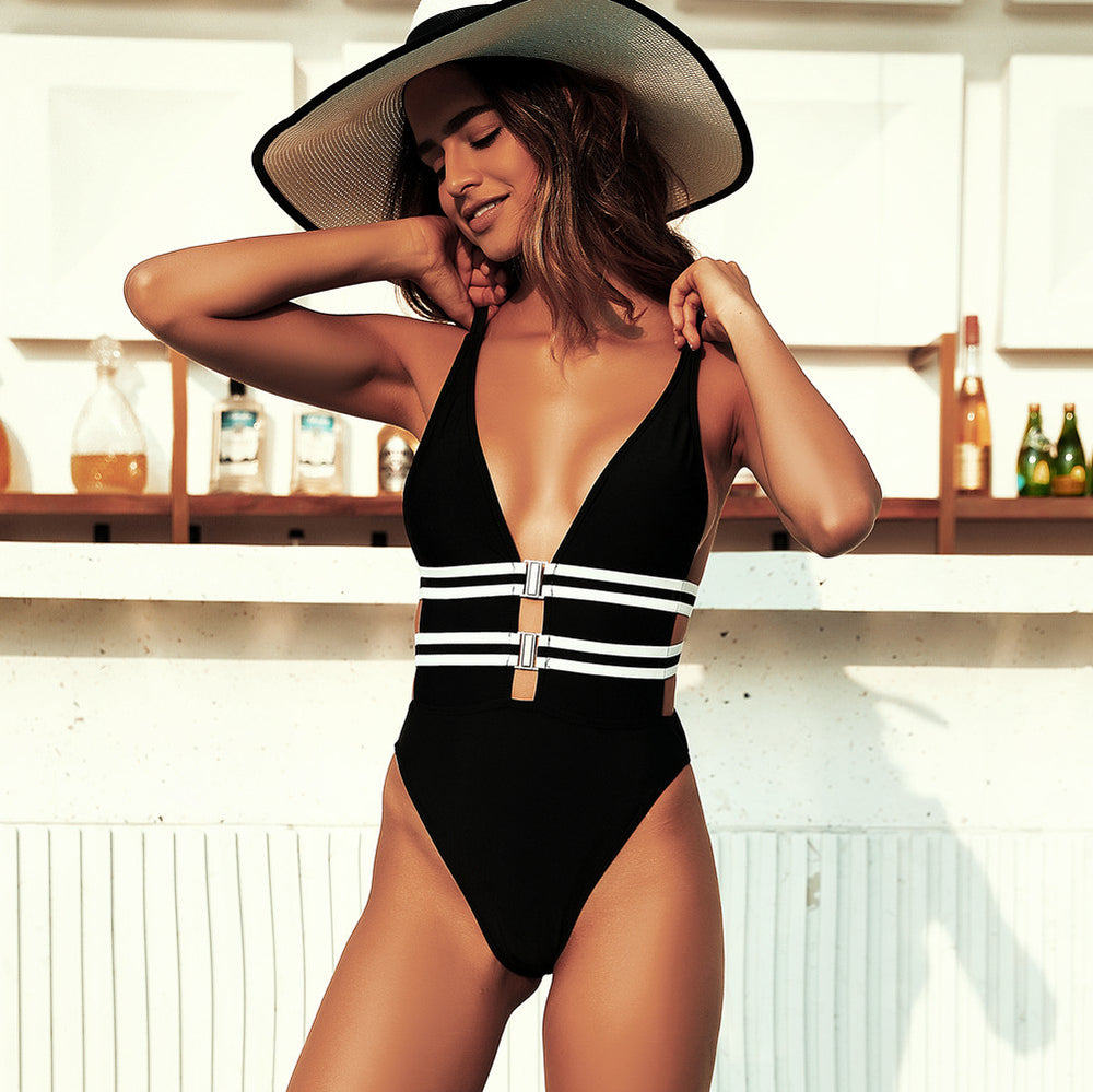 Double Straps One Piece Haddy