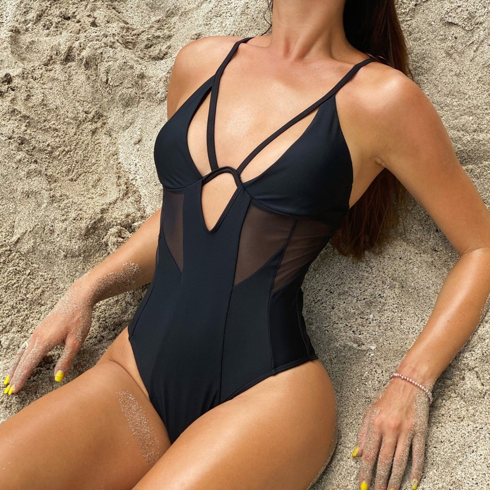 MESH DETAIL ONE PIECE MANDY