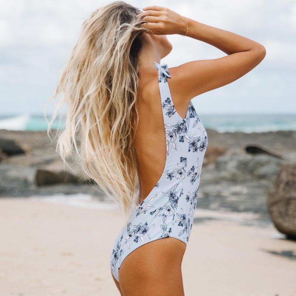 OPEN BACK ONE PIECE BROOKE