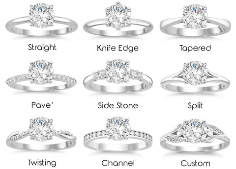 Guidance Of Our Expert Design And Diamond Consultants For Any Questions You May Have Now Lets Look At The Different Band Variations Available To