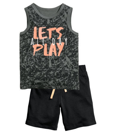 H&M Tank Top and Shorts for Kids