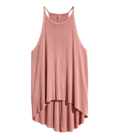Ribbed Jersey Camisole Top