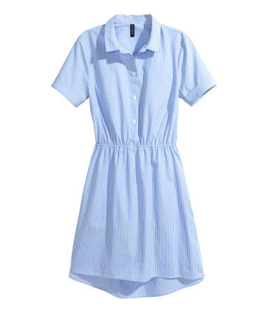 Short-sleeved Cotton Dress