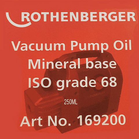 Rothenberger Vacuum Pump Oil 250ml
