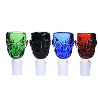 Breaking Bad Styled Coloured Glass Smokers Bowls