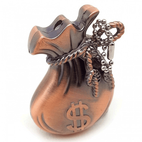 Winner Dollars Fortune Money Bags Gas Lighter