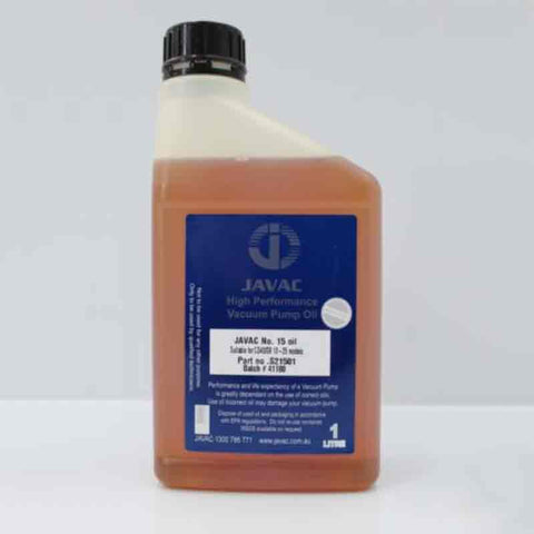 Vacuum Pump oil - No.15 / 16 - Grade 32